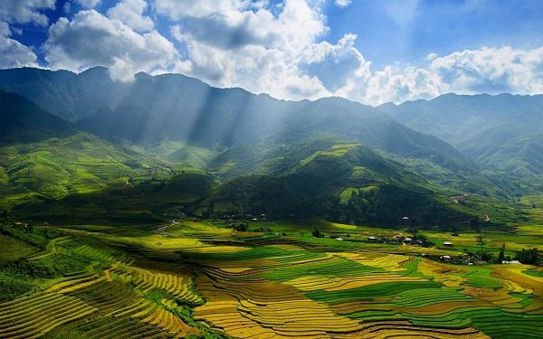 [Infographic] Bức tranh du lịch Việt Nam 2014