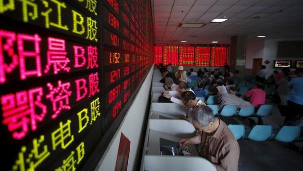 Mất 8,5%, Shanghai Composite giảm mạnh nhất kể từ 2007