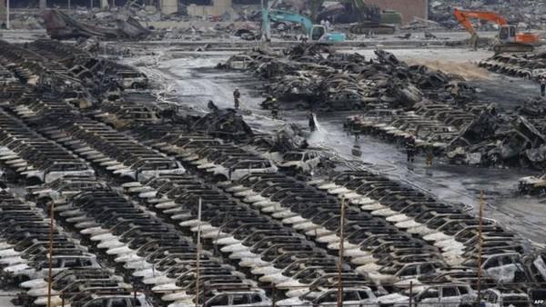 Vụ nổ Thiên Tân khiến Hyundai Motor thiệt hại 136 triệu USD