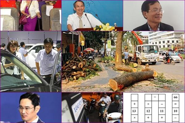 [Nổi bật tuần] Xăng tăng giá, Tranh cãi về mức thuế với ô tô, Hà Nội xét xử vụ chặt cây xanh