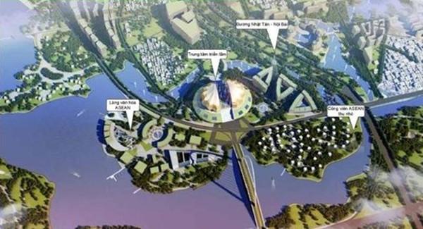 Hà Nội duyệt quy hoạch siêu đô thị gần 5.500ha
