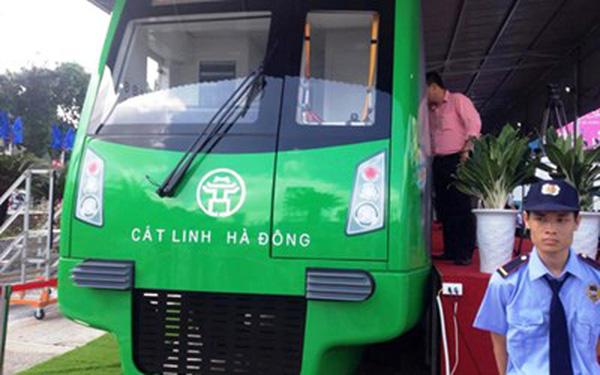 Nhiều băn khoăn với mẫu tàu điện Cát Linh - Hà Đông