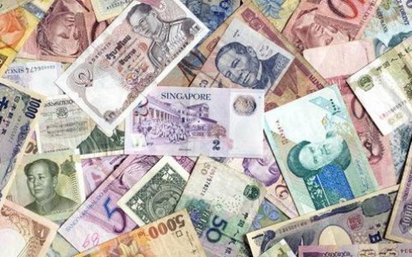 Hàng loạt đồng tiền châu Á cùng mất giá mạnh