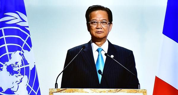 Thủ tướng phát biểu tại COP 21