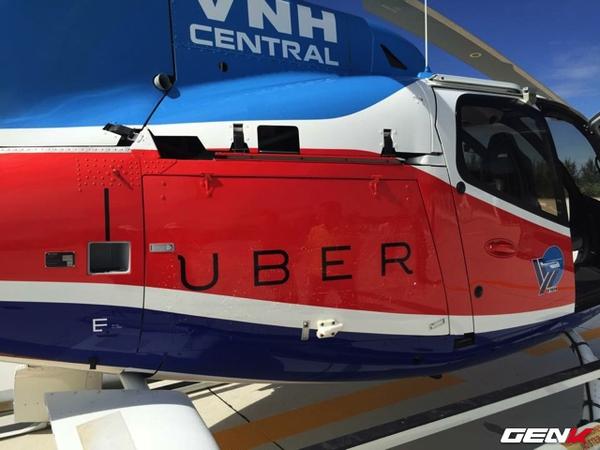 Uber sắp thử nghiệm dịch vụ trực thăng UberCHOPPER tại Đà Nẵng