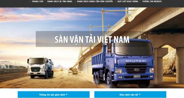 Bộ Giao thông Vận tải vừa ra mắt sàn giao dịch vận tải đầu tiên