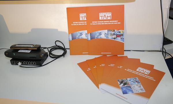 VIETNAM-TAM tham gia triển lãm phim và công nghệ truyền hình - Telefilm 2016