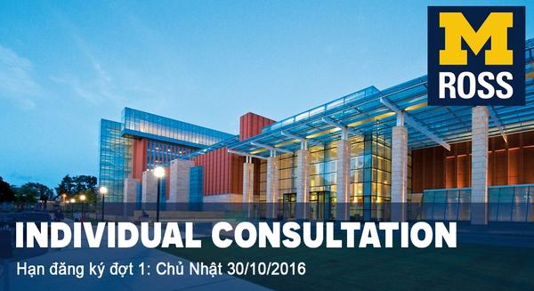 [TP.HCM] Tư vấn cá nhân cho chương trình Global MBA đặc biệt của Đại học Michigan (Mỹ)