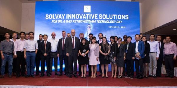 Solvay tổ chức chuỗi sự kiện Solvay Innovation Day 2016 tại Việt Nam