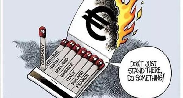 """[Chart] Ngân hàng châu Âu đang """"sống mòn"""""""