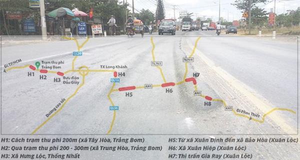 Quốc lộ nghìn tỉ lún do xe dừng đỗ lâu và nắng nóng?