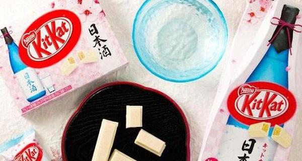 Ở Nhật, sô cô la muốn bán được hàng cũng phải mang hương vị của.. rượu sake
