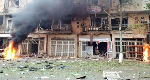 Nổ lớn tại khu đô thị Văn Phú, nhiều người thương vong