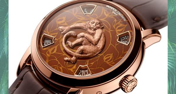 Những chiếc đồng hồ bạc tỷ ăn theo năm con khỉ