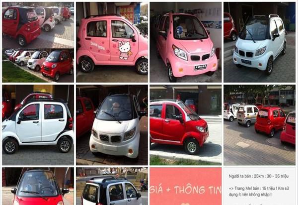 """Ôtô điện rao bán """"rộn ràng"""" trên Facebook: Rẻ hơn xe máy, nhưng bị cấm...lưu thông"""