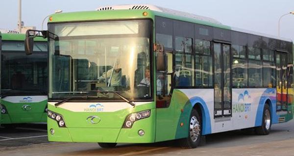 Cận cảnh dàn xe buýt nhanh BRT tiện nghi đầu tiên ở Thủ đô