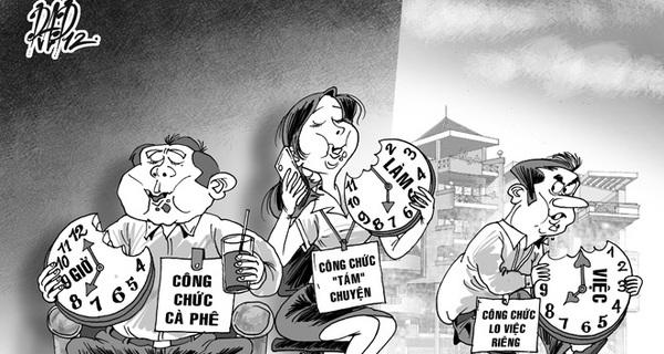 Đồng Tháp cấm viên chức đi uống cà phê trong giờ làm việc