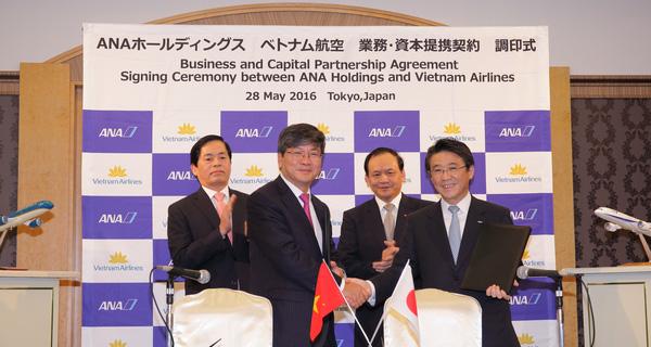 Vietnam Airlines chính thức bán 8,7% cổ phần cho hãng hàng không Nhật Bản