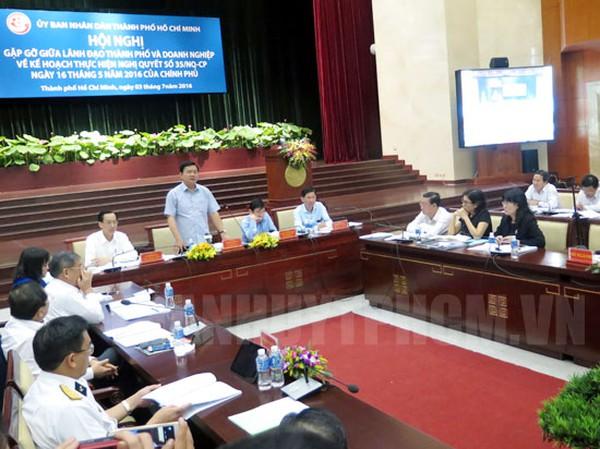 Sài Gòn đặt mục tiêu 500.000 doanh nghiệp: Doanh nhân nói khó, Bí thư Thăng khẳng định làm được