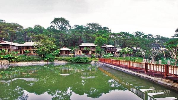Cận Cảnh Thien đường Nghỉ Dưỡng đẹp Như Tranh Xay Khong Phep ở Ba Vi