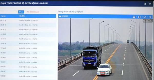 Từ 3/11, xử lý vi phạm giao thông trên cao tốc Nội Bài – Lào Cai qua camera giám sát
