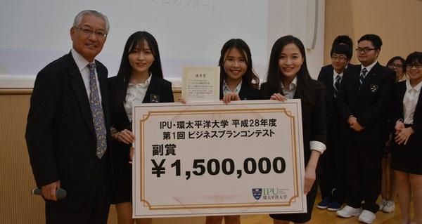 3 nữ du học sinh Việt xinh đẹp chiến thắng giải thưởng 1,5 triệu yên với ý tưởng khởi nghiệp trên đất Nhật