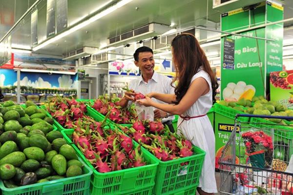 Từ khi về tay Thái Lan, Metro đã xuất hàng trăm tấn rau, hoa quả sạch Việt Nam phục vụ người Thái