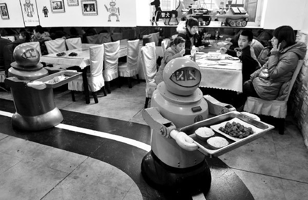 Quá trễ rồi, robot đã và đang thay thế con người!
