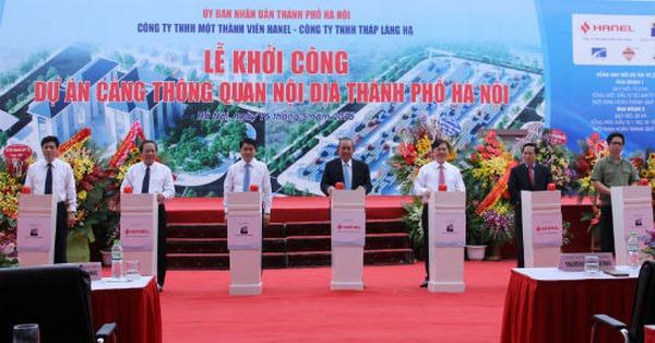 Đầu tư 2500 tỷ đồng xây dựng cảng thông quan nội địa TP. Hà Nội