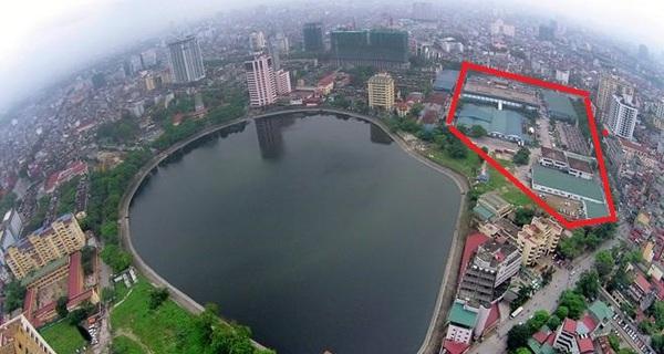 Vị trí duy nhất trong nội đô lịch sử Hà Nội được phép xây tháp chọc trời 50 tầng