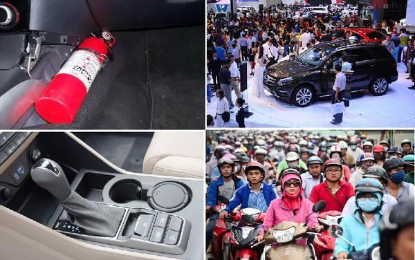 Những chính sách mới về ô tô và xe máy có hiệu lực từ 1/1/2016