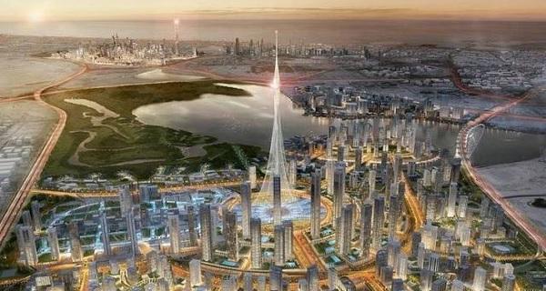 Chưa thỏa mãn với chiều cao 828 mét của Bufj Khalifa, Dubai xây tiếp tháp mới trị giá 1 tỉ USD