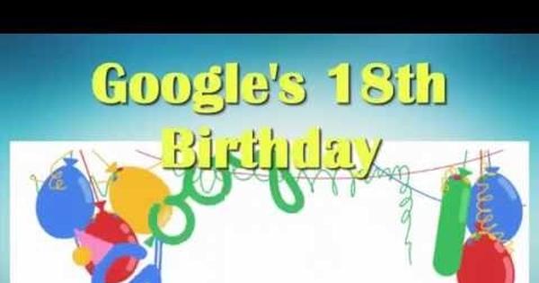 Sinh nhật của Google là khi nào?