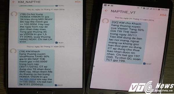Khuyến mại nạp thẻ sau 'lệnh' cấm của Bộ TT&TT: VinaPhone nói gì?