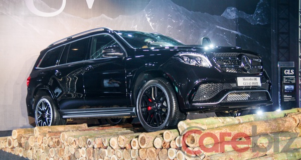 Mercedes-Benz ra mắt chiếc SUV hạng sang GLS, cạnh tranh trực tiếp với Audi Q7 và Range Rover