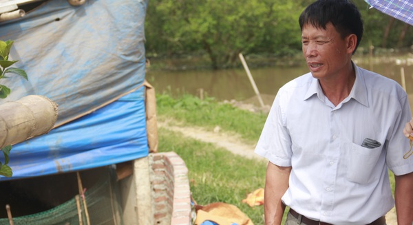 Ông Đoàn Văn Vươn kể chuyện đắp đê chắn lũ cứu làng và kinh doanh vịt biển