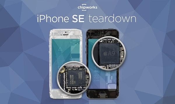 Mổ bụng iPhone SE: Đa phần là linh kiện cũ