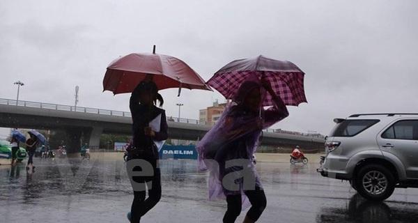 Các tỉnh khu vực Bắc Bộ tiếp tục có mưa rải rác đến hết tuần
