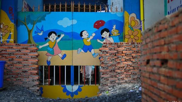 Những hình ảnh nhà bị xây bít cửakhó tin ở Sài Gòn