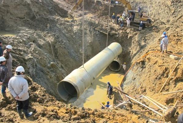 Hà Nội đã báo cáo Phó thủ tướng việc TQ thắng thầu ống nước sông Đà 2