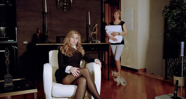 """Những bức ảnh về quan hệ """"chủ-tớ"""" ở Nga"""