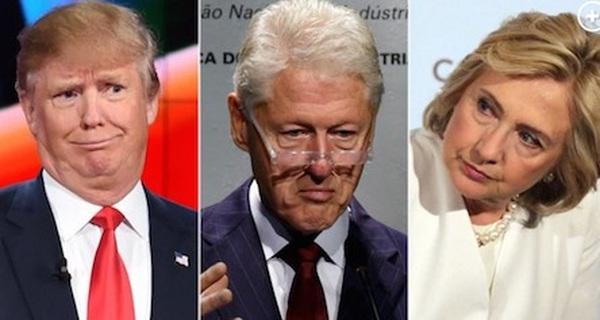 """Dù ghét đối thủ nhưng bà Clinton cũng phải thừa nhận: Trump đang sở hữu """"một thứ vũ khí"""" đáng sợ y hệt chồng mình"""