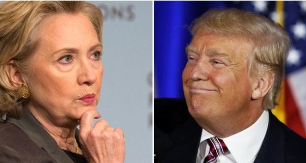 Theo khảo sát này, bà Clinton khó lòng thắng Trump trong cuộc bầu cử 2016