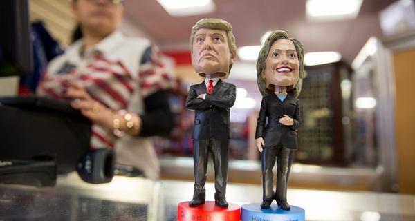 Có 1/4 số cử tri Mỹ ghét cả ông Trump lẫn bà Clinton