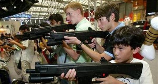 Cho trẻ chơi game có thể thúc đẩy một nền văn hóa bạo lực?