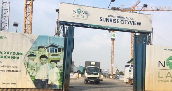 Dự án Sunrise Cityview của NovaLand không bị đình chỉ xây, chỉ bị tạm dừng thi công trên vài chục mét đường tranh chấp