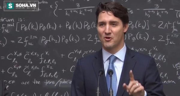 """Đám đông """"phát cuồng"""" khi Thủ tướng Canada nói về lượng tử"""