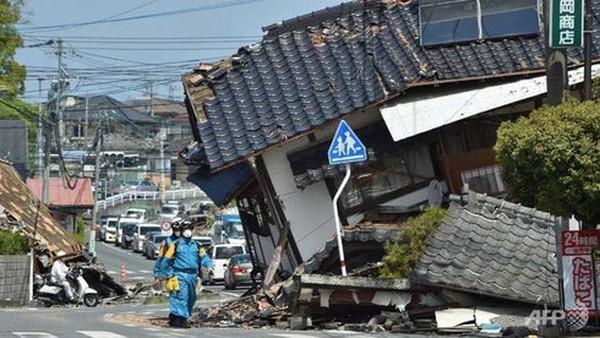 38.000 binh sĩ, cảnh sát Nhật, Ecuador cứu hộ động đất