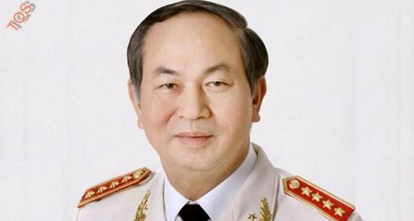 Chân dung Chủ tịch nước Trần Đại Quang