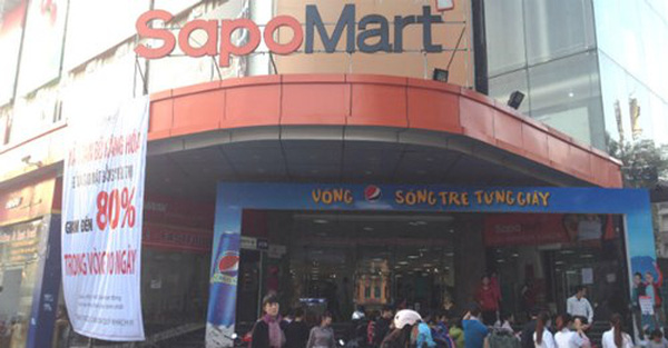 """Vỡ mộng 10 siêu thị năm 2015, SapoMart """"bán mình"""" cho đối tác ngoại"""